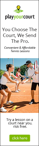 Take The Best Tennis Lesson On A Court Near You