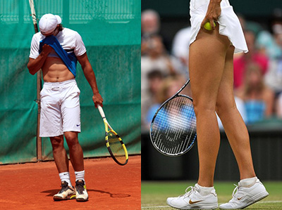 Tennis Players Have Great Bos