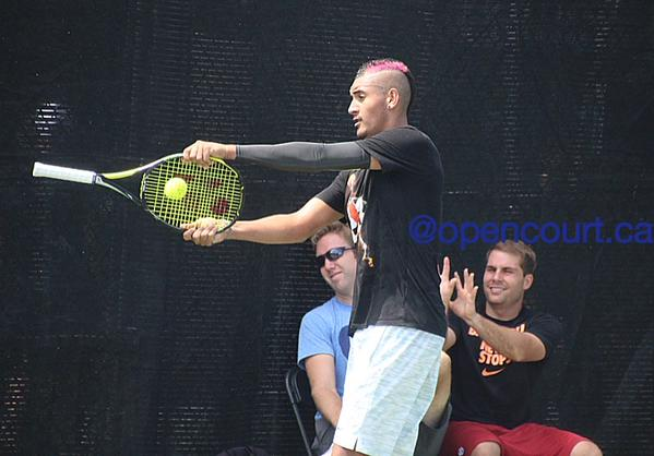 Nick Kyrgios Stoops to New Low Against Wawrinka