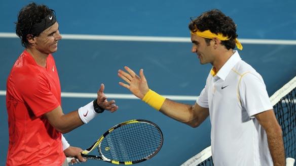 Top 5 Matches of Roger vs. Rafa