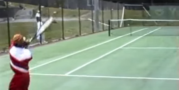 [Video] 6 Year Old Djokovic Playing Tennis is Adorable and Incredible