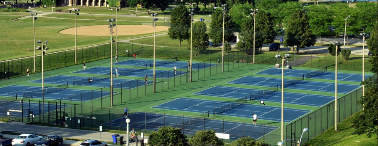 Top 5 Places for Tennis Lessons in Chicago