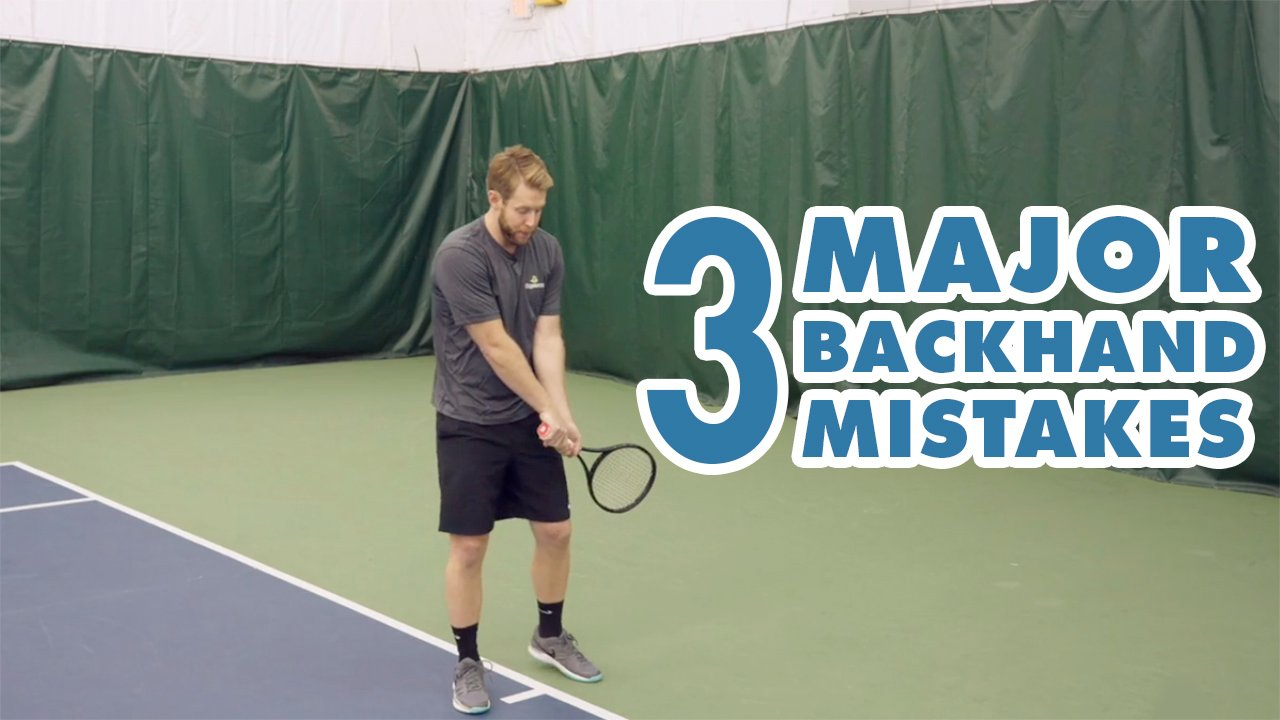 FIX These 3 MISTAKES And IMPROVE Your Backhand