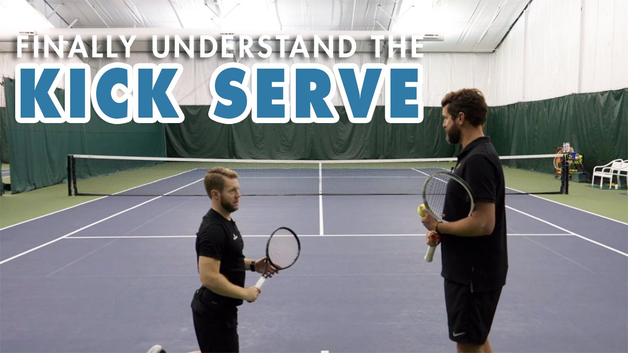 Hit POWERFUL Kick Serves With This ONE Drill