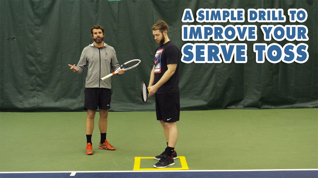 A SIMPLE Drill to Fix Your Inconsistent SERVE TOSS