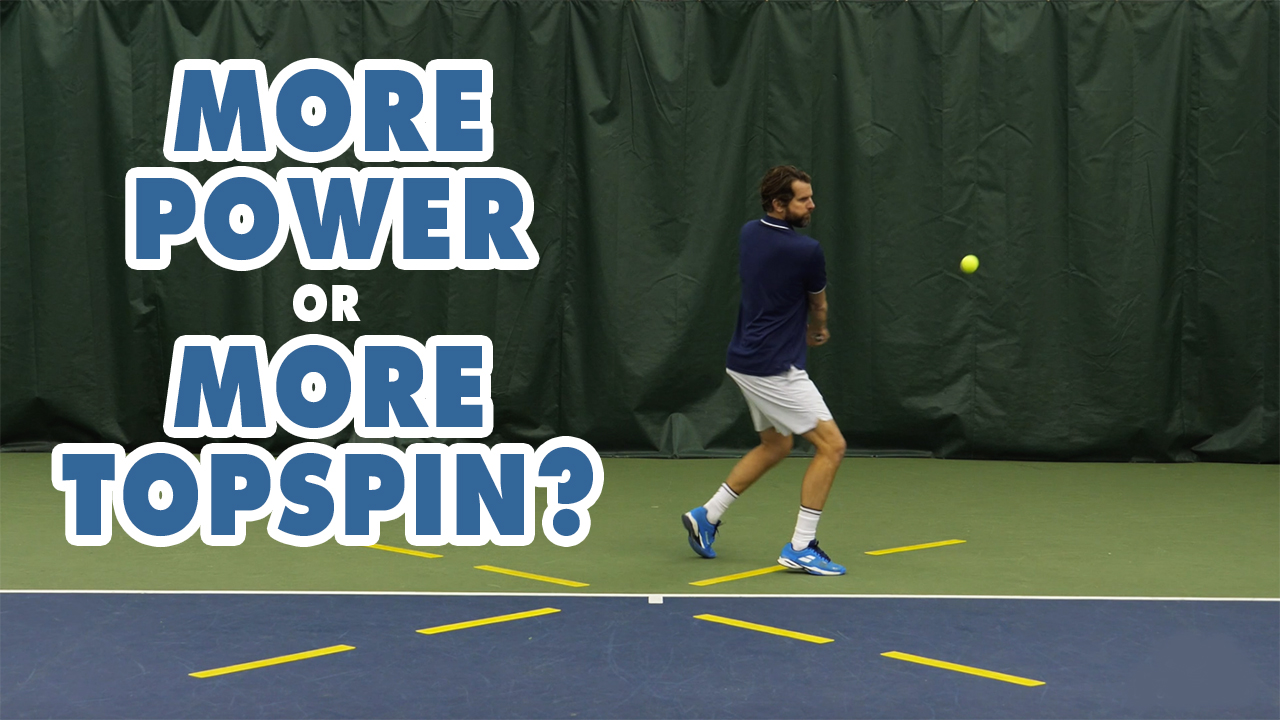 How To Get More POWER On Drives And TOPSPIN By Shaping The Ball