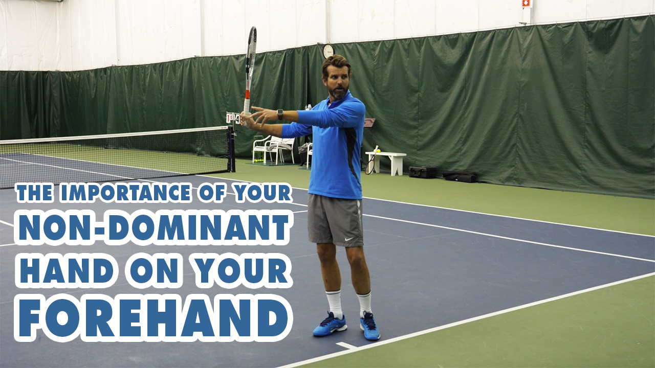 The Importance Of Your Non-Dominant Hand On Your Forehand - Forehand Secret
