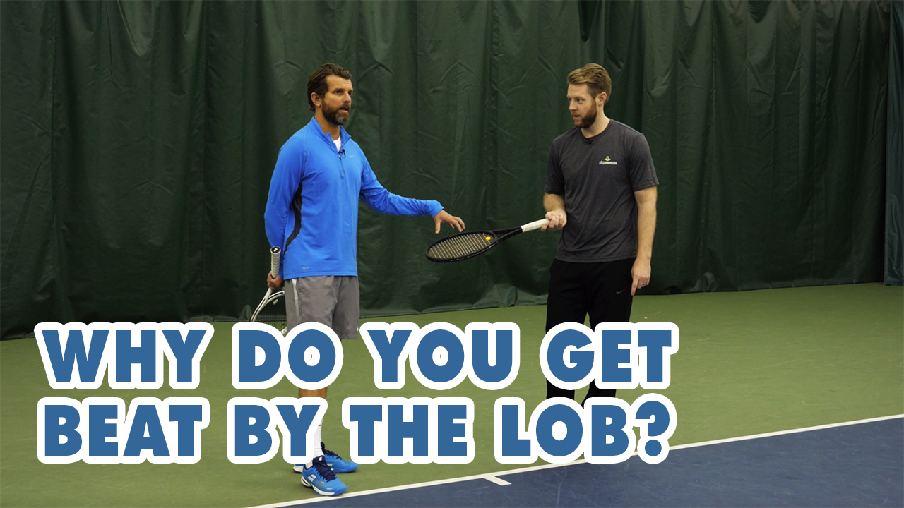 Stop Getting BEAT By The LOB - Tennis Lesson