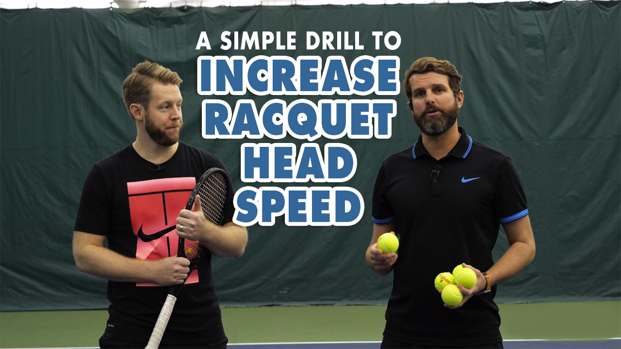 A SIMPLE Drill to ADD MORE Racquet Head SPEED