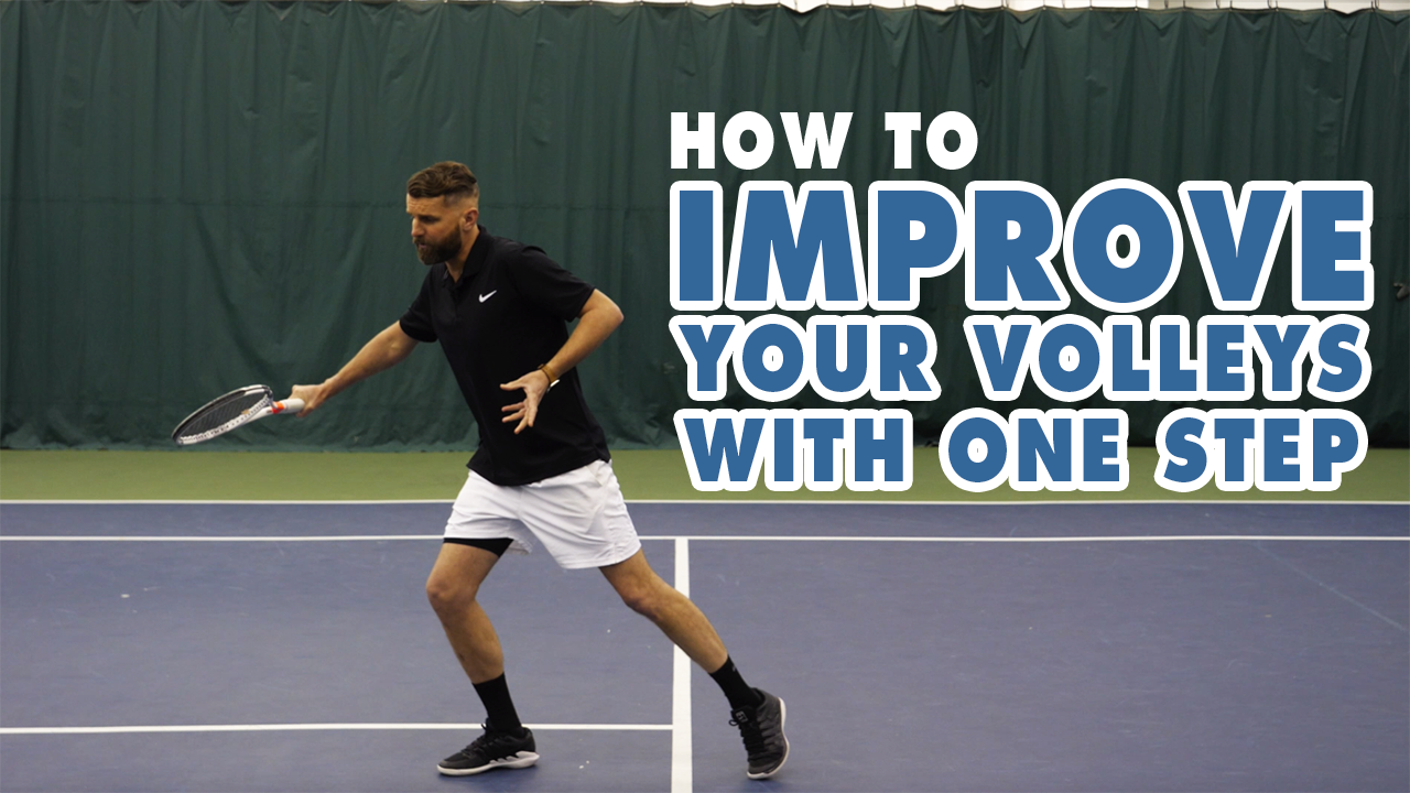 How to IMPROVE Your VOLLEY In Just 1-Step