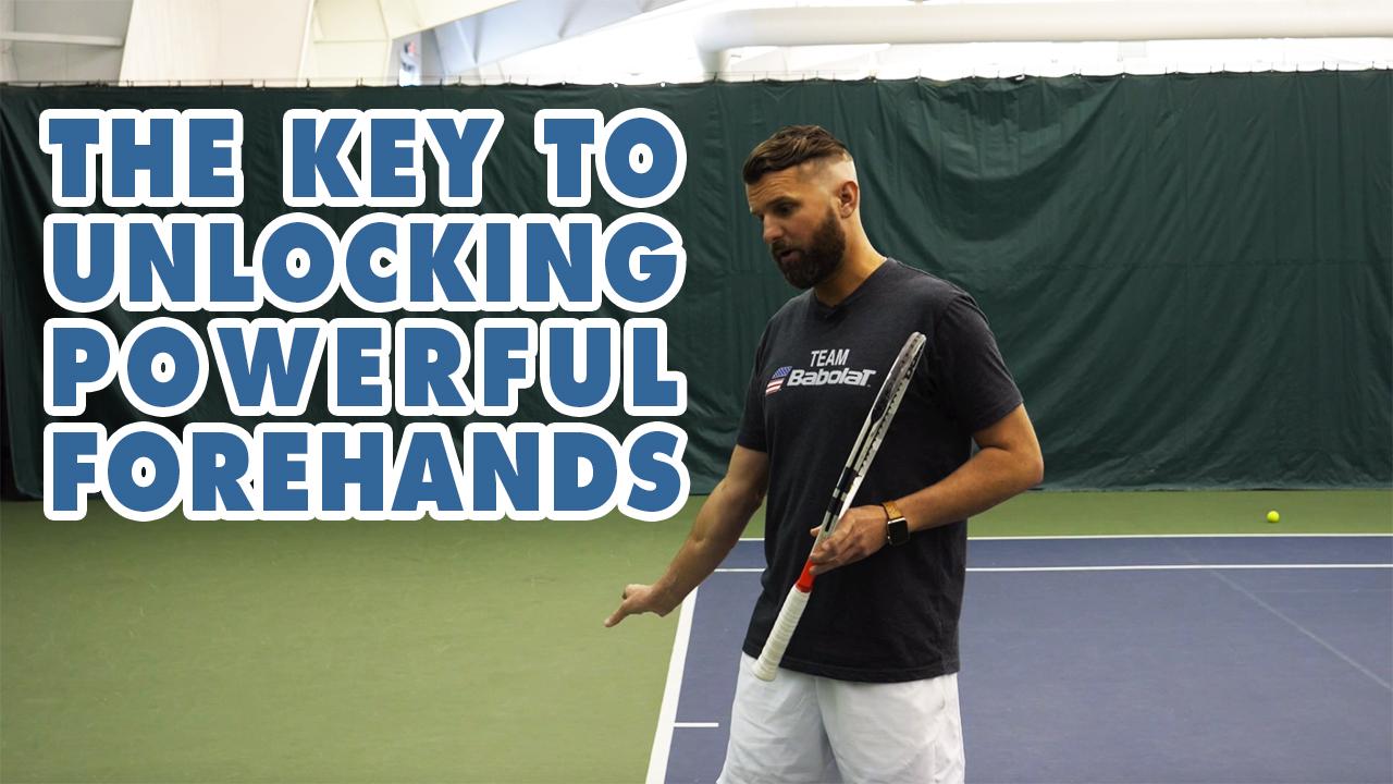 How To Unlock MASSIVE Forehand POWER 💪