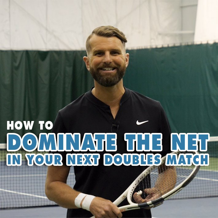 How To DOMINATE The Net In Your Next Doubles Match