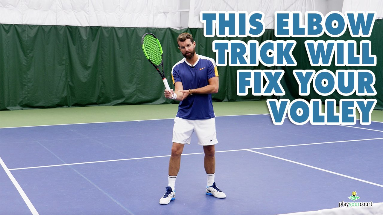 This Elbow Trick Will Fix Your Volley