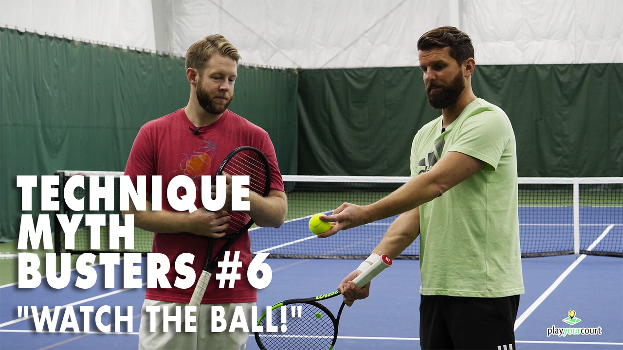 Technique Myth Busters #6 - Watch The Ball! 🎾 👀