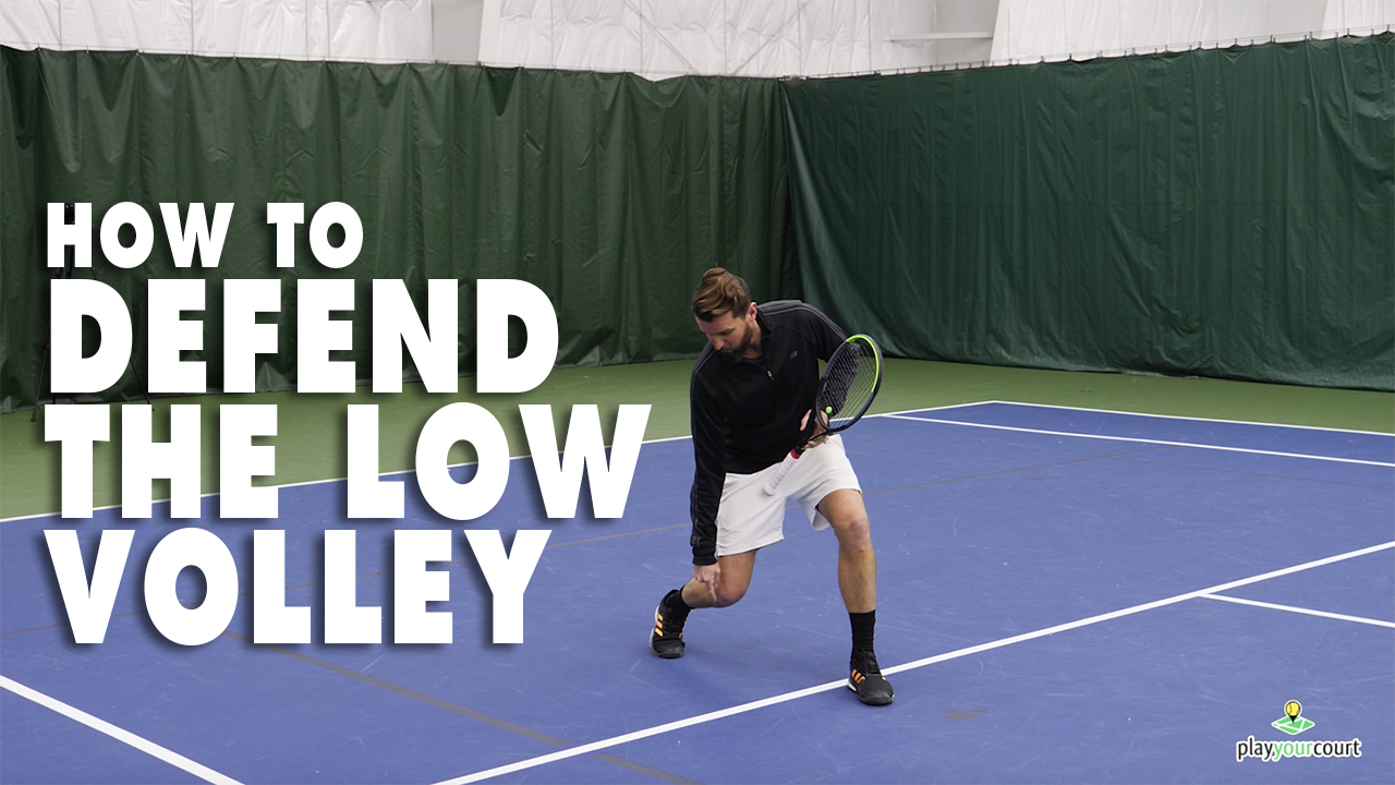 How To Defend The Low Volley