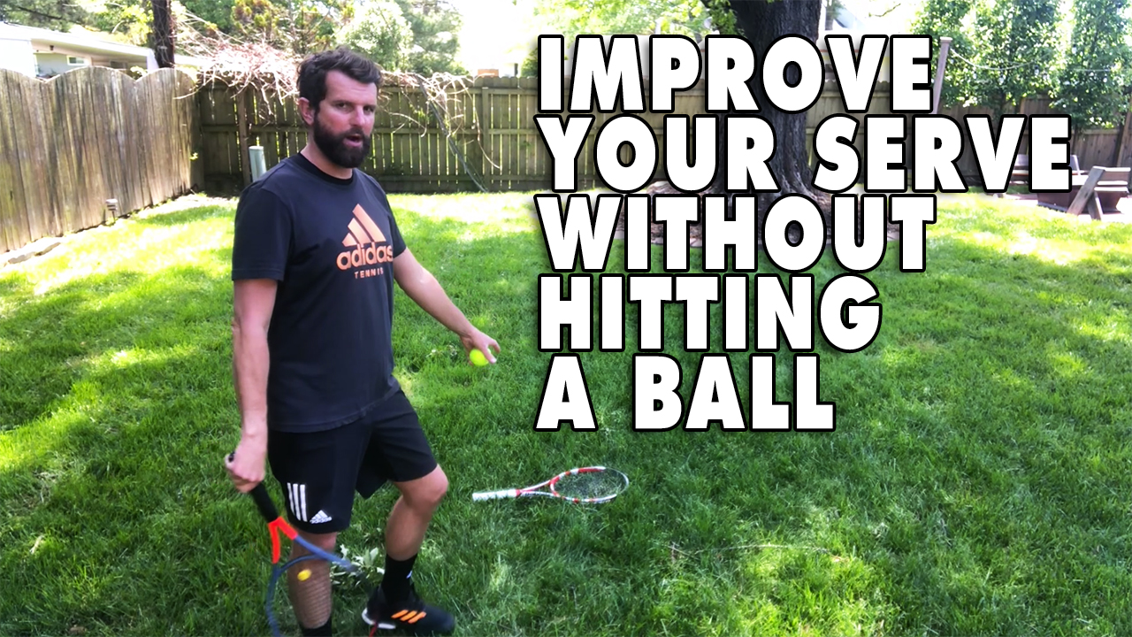 How To Improve Your Serve Without Hitting A Ball!