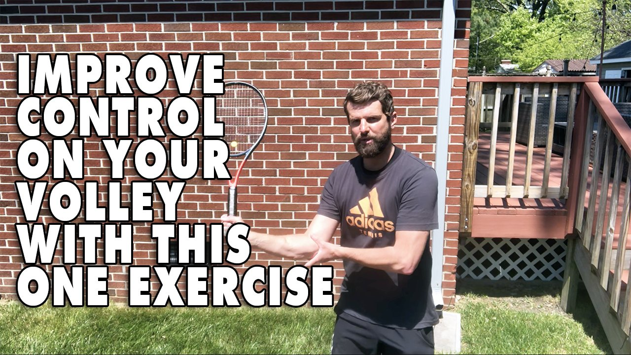 Improve Control On Your Volley With This One Exercise!
