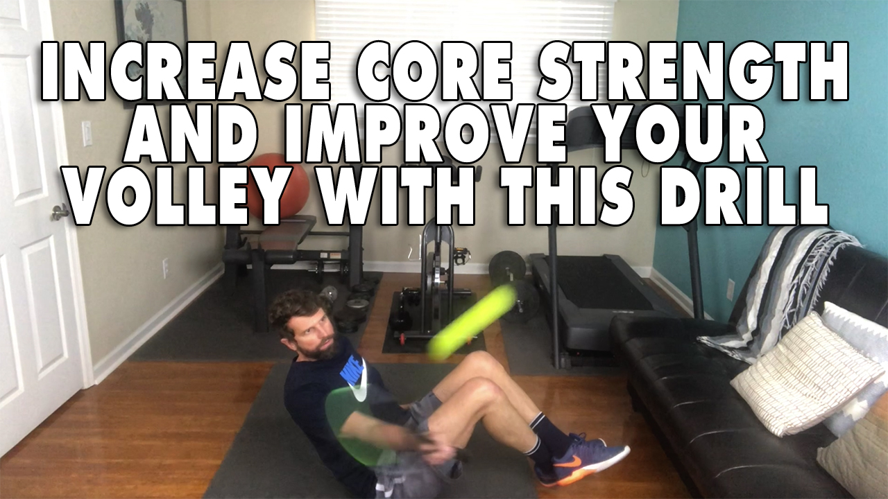 Improve Your Volley And Your Core With This Exercise! 💪