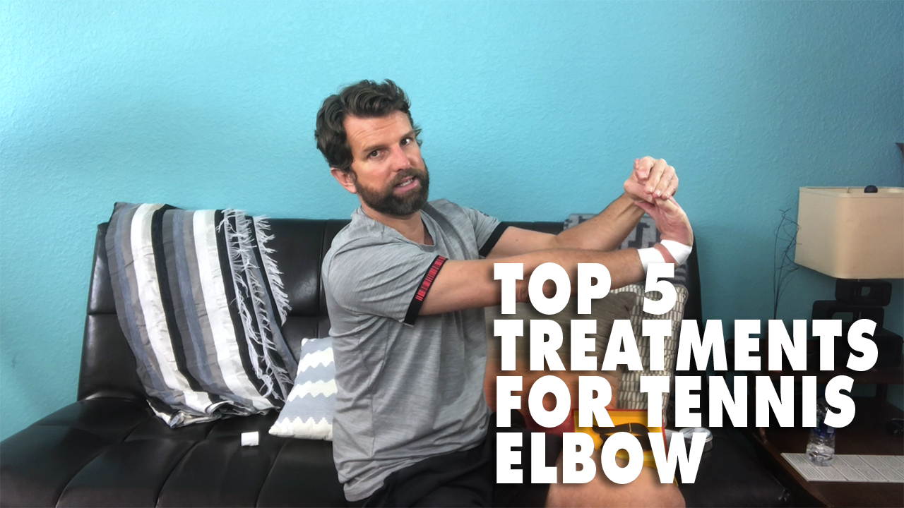 The Top 5 Treatments For Tennis Elbow