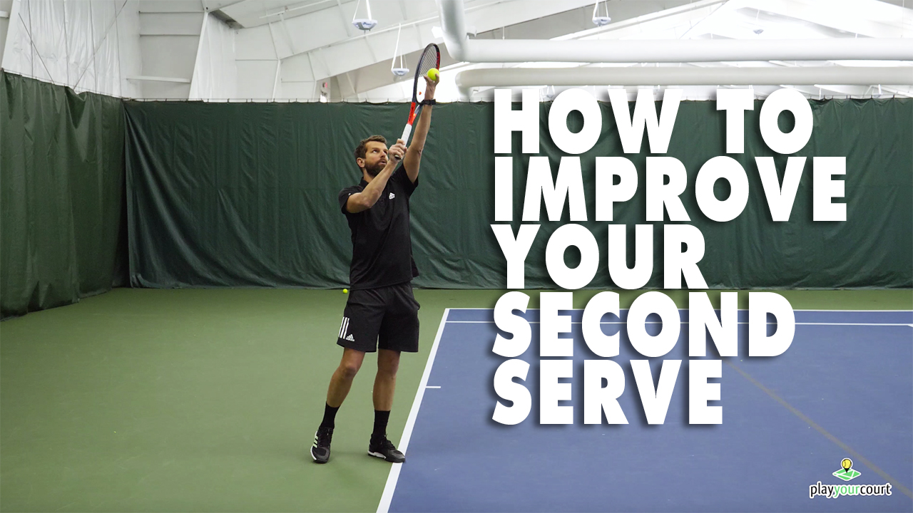 How To Improve Your Second Serve ✌️ 🎾