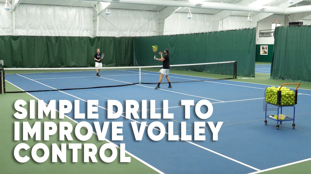 Simple Drill To Improve Your Tennis Volley Control