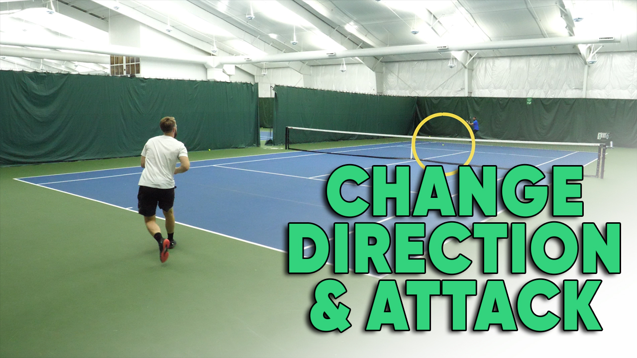 When To Change Direction Of The Ball And Attack