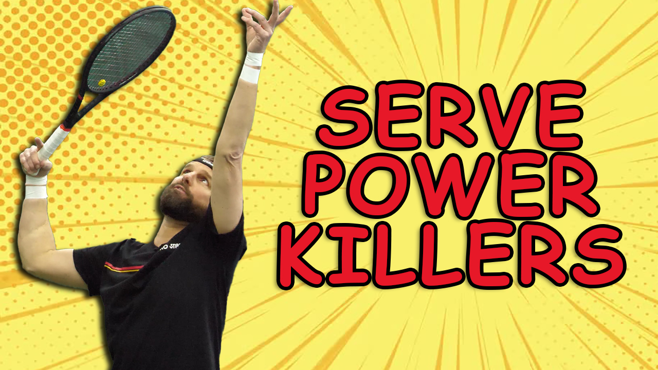 The #1 Tip To Improve Power And Spin On The Serve