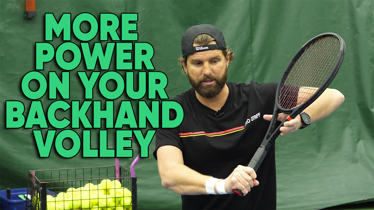 Why Your Backhand Volley Lacks Power (And How To Fix It)