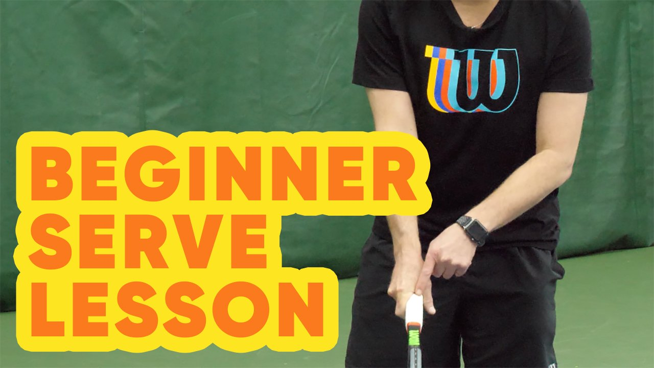 Beginner Tennis Serve Lesson