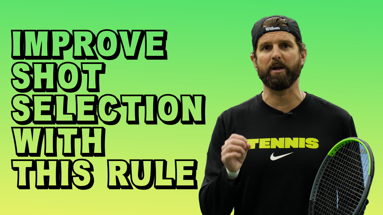 Improve Shot Selection With This Rule