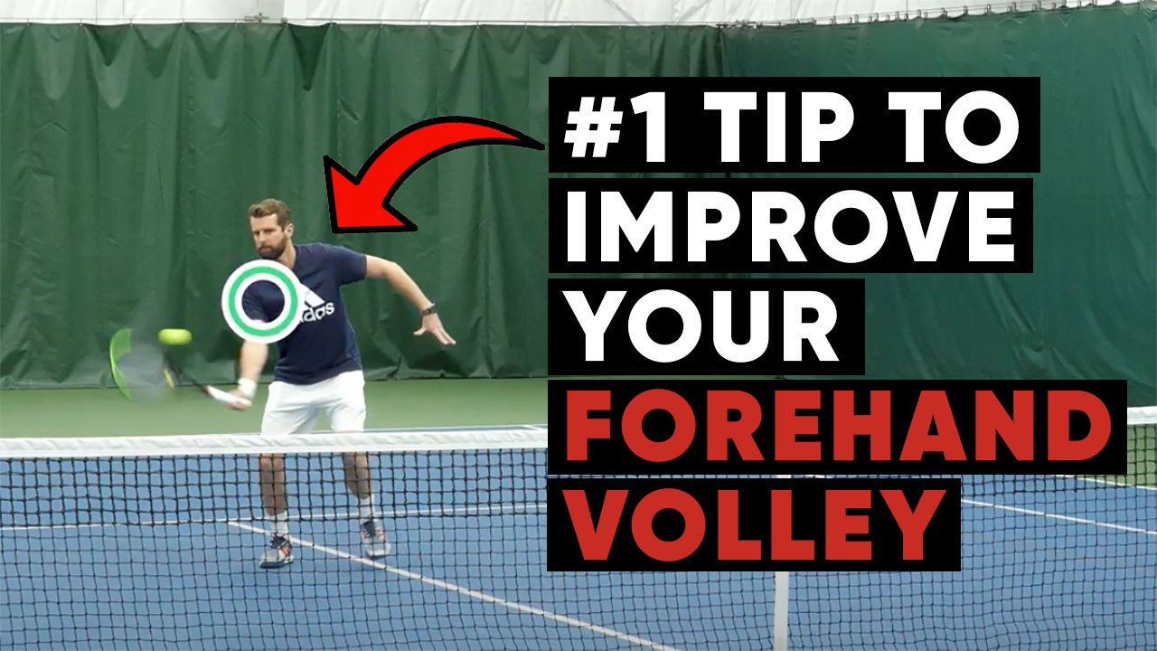 #1 Tip To Improve Your Forehand Volley