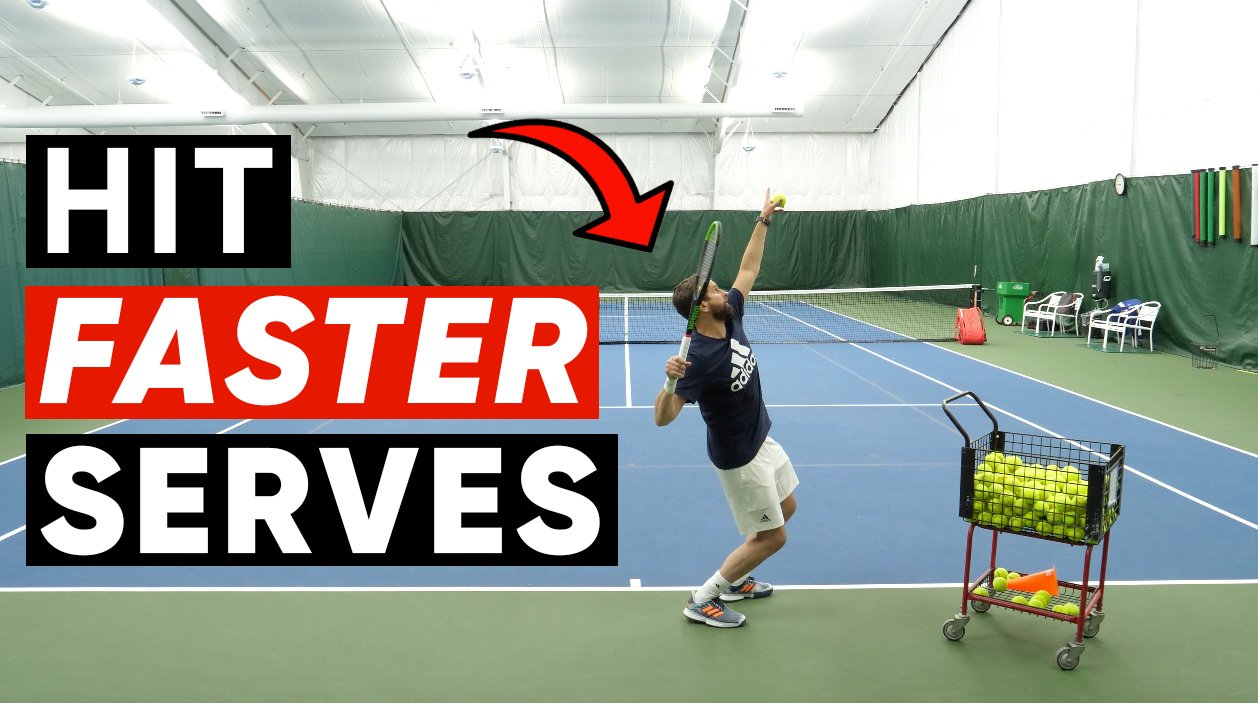 How To Hit Faster Serves - #1 Reason You're Stopping Power